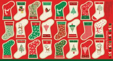 Makower Christmas Fabric