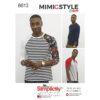 Simplicity Pattern 8613 Men's Knit Top by Mimi G