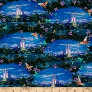 Dreamland Scenic Fabric Quilting Treasures