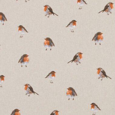 Robin Linen Look Canvas Fabric