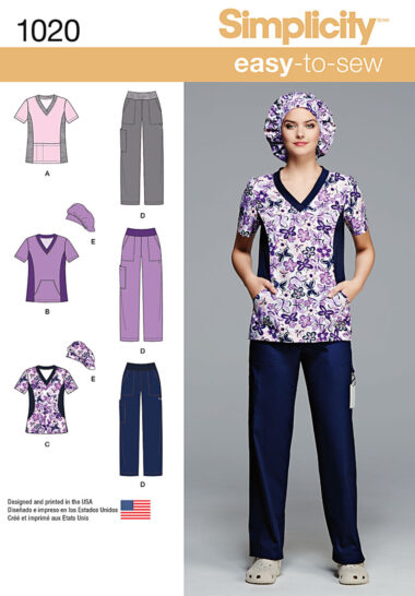 Simplicity 1020 Sewing Pattern