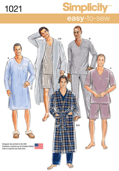 Simplicity 1021 Sewing Pattern