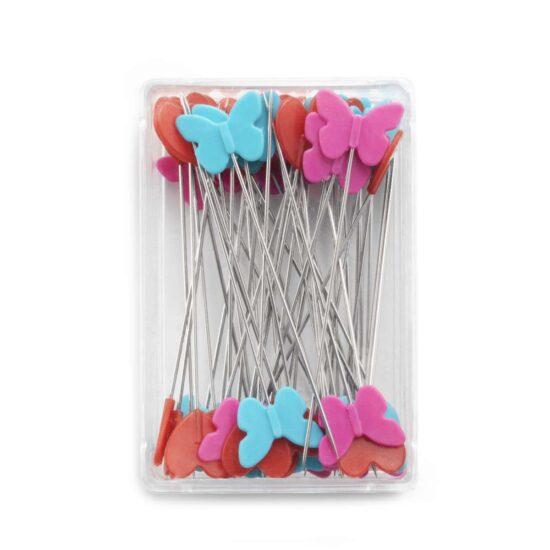 Plastic headed pins Prym Love, 50 x 0.60 mm, assorted