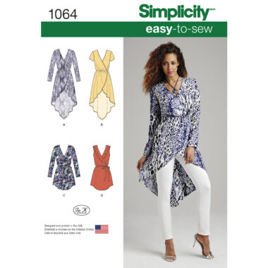 Simplicity 1064 Sewing Pattern