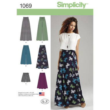 Simplicity 1069 Sewing Pattern