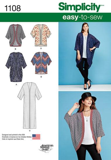 Simplicity 1108 Kimono Sewing Pattern