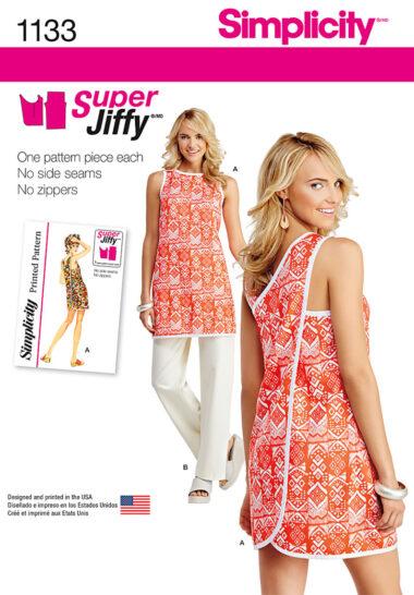 Simplicity 1133 Beach Wrap Sewing Pattern