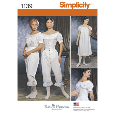 Simplicity 1139 Sewing Pattern