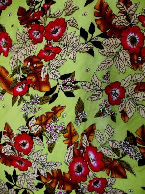 Aria Silk Chiffon Burnout Dress Fabric John Kaldor