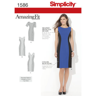 Simplicity 1586 Sewing Pattern