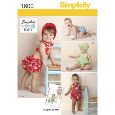 Simplicity 1600 Sewing Pattern
