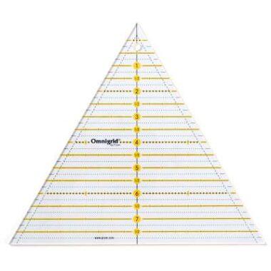 Prym Patchwork Triangle Ruler Multi 8 inch