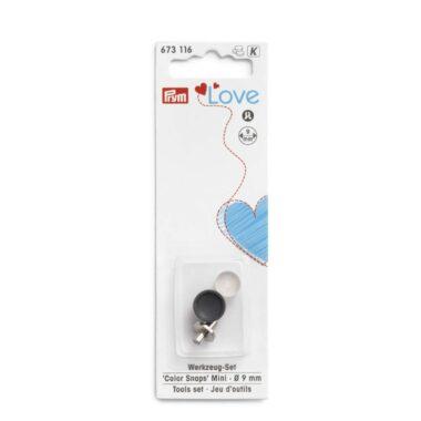 Press fasteners Color Snaps Mini - Tools set, Prym Love, 9 mm