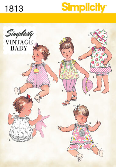 Simplicity 1813 Sewing Pattern