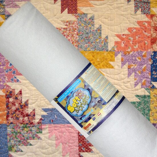 Soft and Bright 120inch wide Wadding