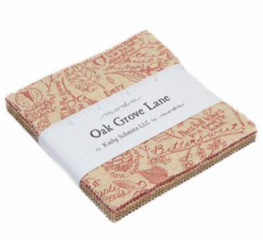 Oak Grove Charm Pack Kathy Schmitz Moda Fabric