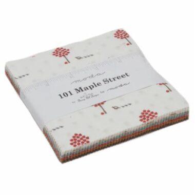 101 Maple Street Bunny Hill Designs Charm Pack Moda Fabric