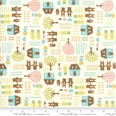 Home Sweet Home Goldilocks Stacy Iest Hsu Moda Fabric