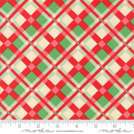 Swell Christmas Tartan Moda Fabric