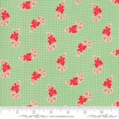 Swell Christmas Candy Cane Moda Fabric