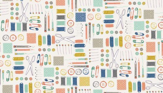 Handmade Notions Makower Fabric