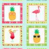 Fruity Friends Panel Makower Fabric