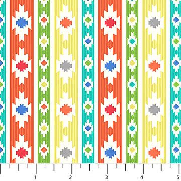 Llama Llama Stripe Fabric Northcott