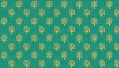 Makower Rhapsody Trees Cotton Fabric