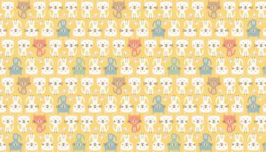 Makower Cool Cats Parade Cotton Fabric