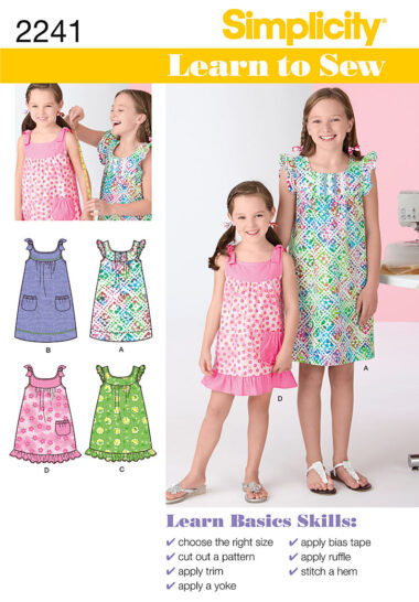 Simplicity 2241 Sewing Pattern