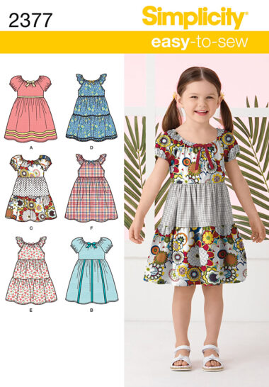 Simplicity 2377 Sewing Pattern