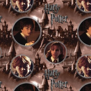 Harry Potter Hogwarts & Characters Fabric