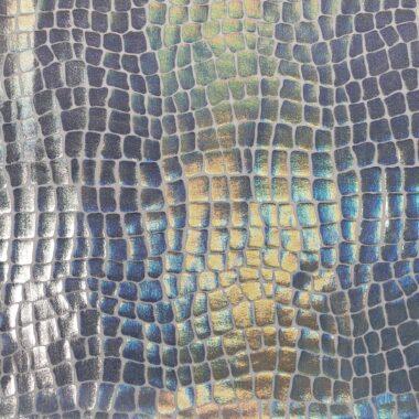 Hologram Crocodile Nylon Spandex Lycra Fabric