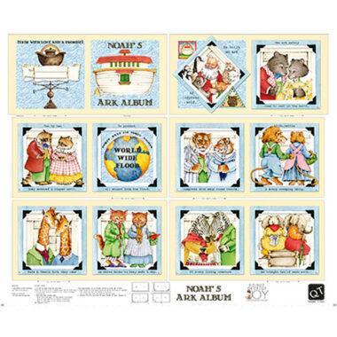 Noahs Ark Storybook Panel Quilting Treasures