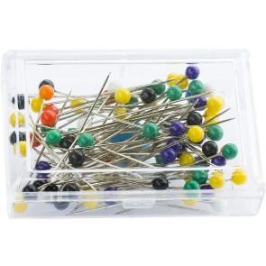 Colour Headed Pins