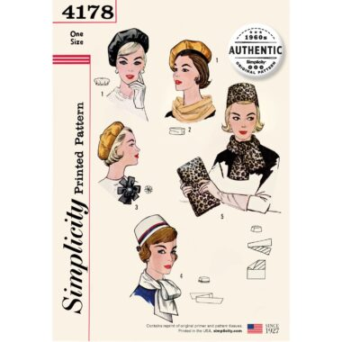 Simplicity 4178 Sewing Pattern