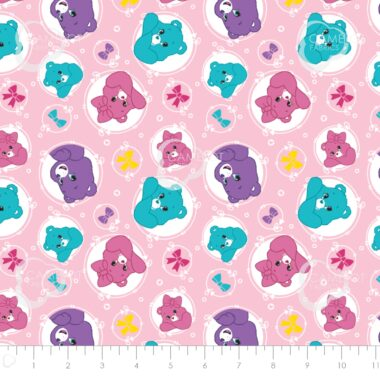 Care Bears Sparkle And Shine All Over Fabric
