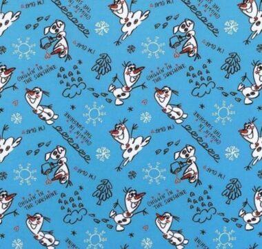 Olaf Chillin In The Sunshine Disney Fabric