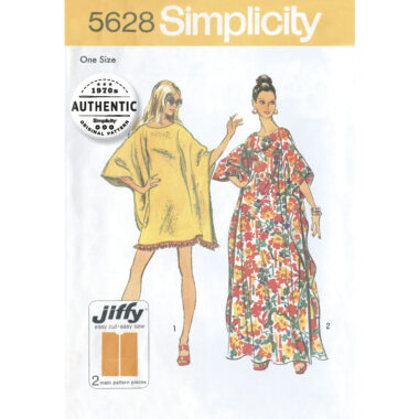 Simplicity 5628 Sewing Pattern