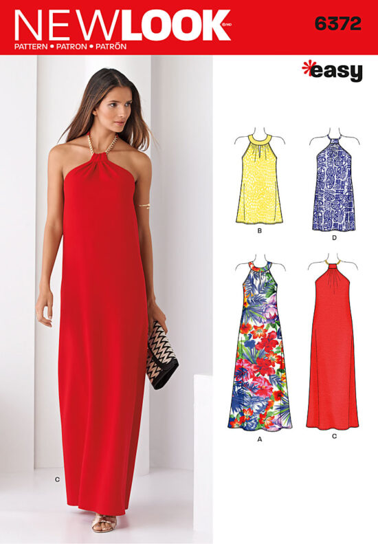 New Look 6372 Sewing Pattern