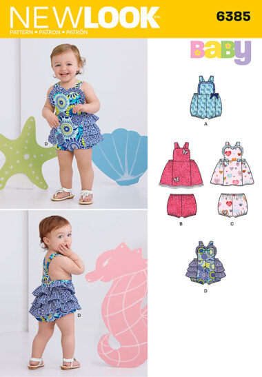 New Look 6385 Childs Sewing Pattern