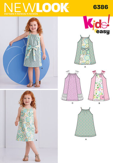 New Look 6386 Childs Sewing Pattern