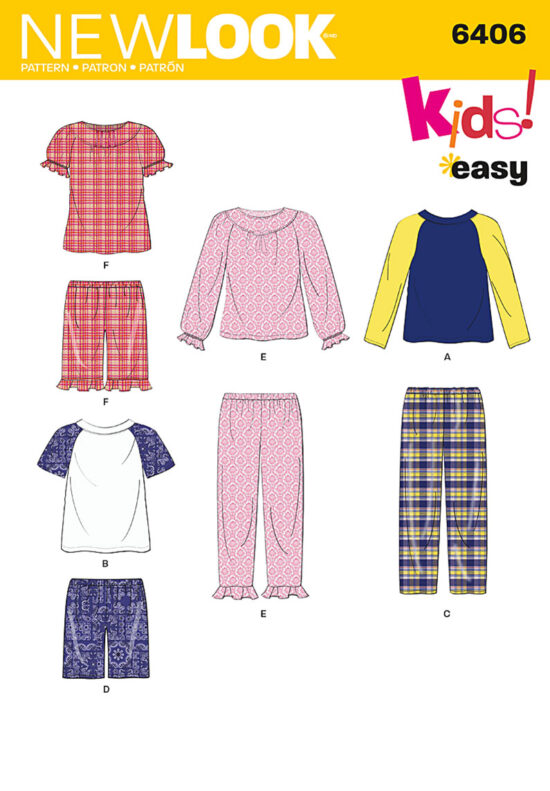 New Look 6406 Sewing Pattern