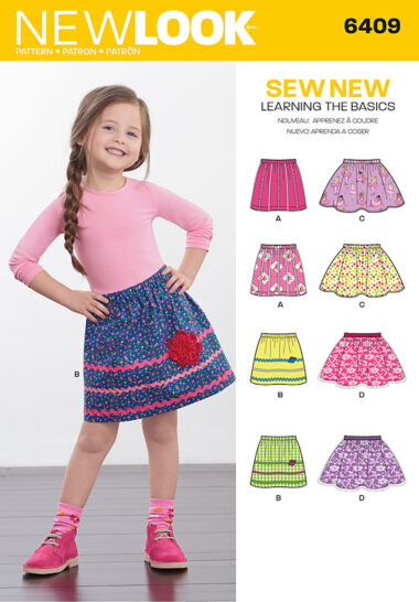New Look 6409 Sewing Pattern