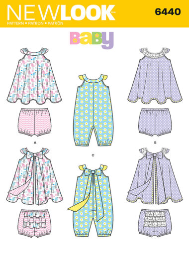 New Look 6440 Sewing Pattern