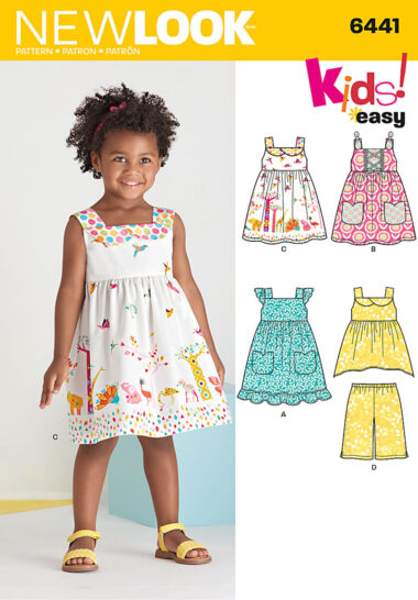 New Look 6441 Sewing Pattern