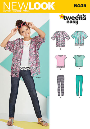 New Look 6445 Sewing Pattern