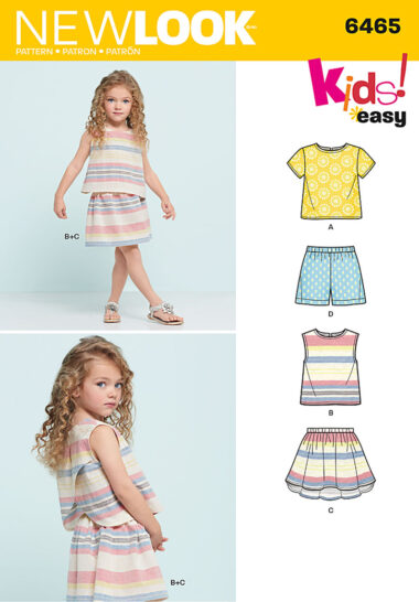 New Look 6465 Sewing Pattern
