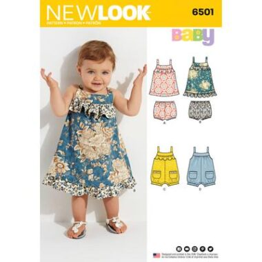 New Look 6501 Sewing Pattern