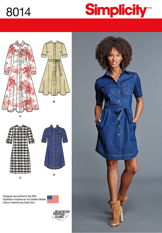 Simplicity 8014 Sewing Pattern